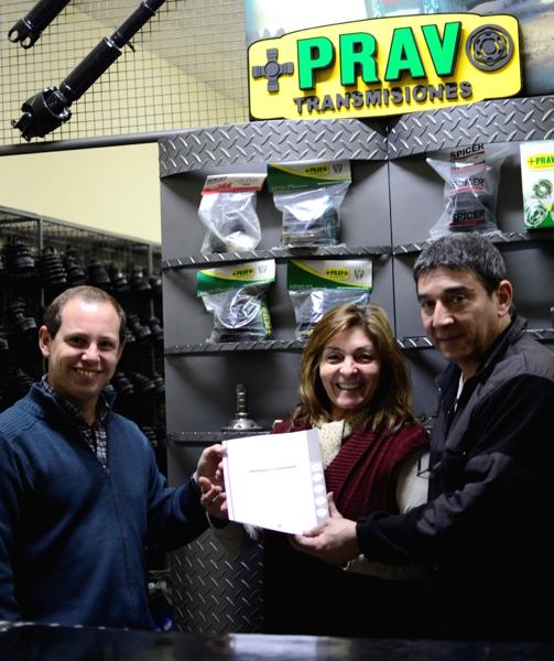 Desde octubre de 2013, Prav® ha obtenido el registro de marca.